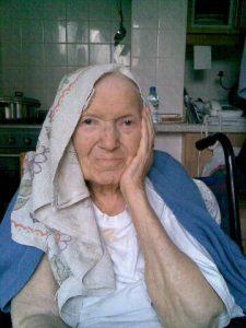 Granny tea towel