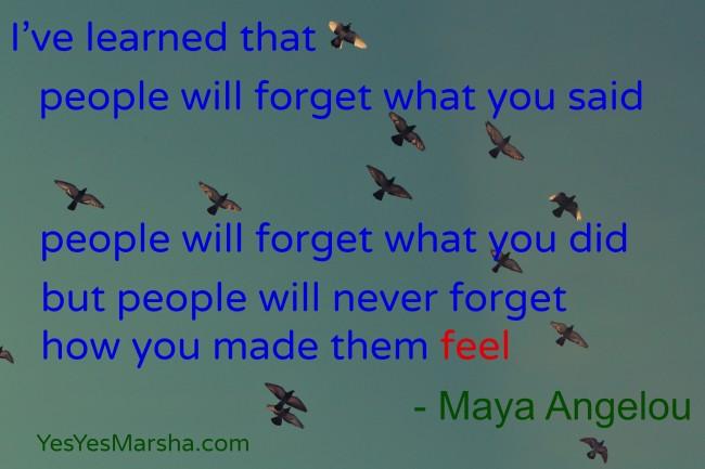 Maya Angelou Birds