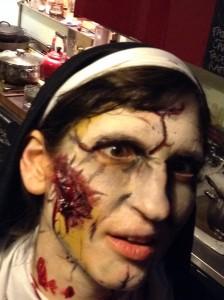 me zombie nun