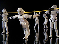 It makes me so happy that there are so many storm troopers on Flickr (which is where I get all my pics from)
