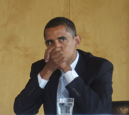 obama listening!