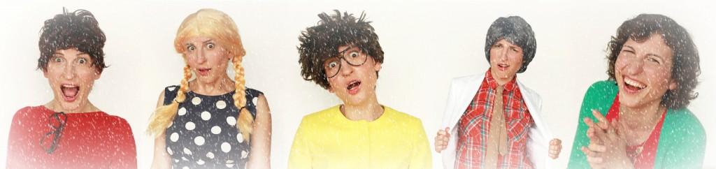 Xmassy Costumers layers funny snowfall
