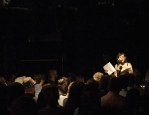 Marsha on the stage