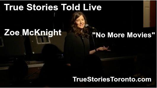 True Stories Told Live Zoe McKnight