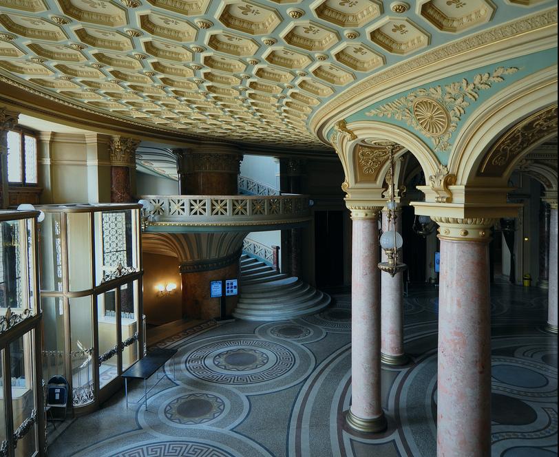empty lobby